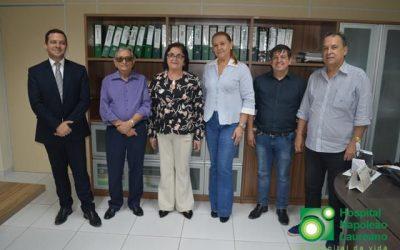 Prefeitura de Logradouro é mais uma a celebrar convênio com Hospital Napoleão Laureano