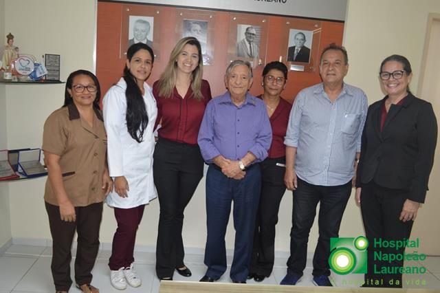 Funcionarias da Endovídeo se mobilizam e fazem doação ao Laureano