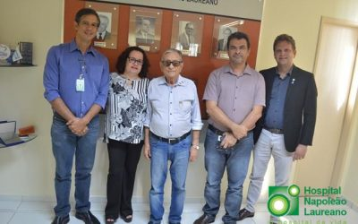 BR 27 vai fornecer internet grátis para pacientes do Hospital Napoleão Laureano