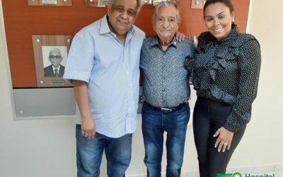 Deputado Estadual Edmilson Soares visita Napoleão Laureano e promete destinar emenda para o hospital