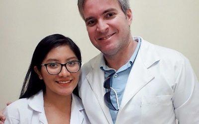 Hospital Napoleão Laureano recebe estudante de medicina do Peru para estágio