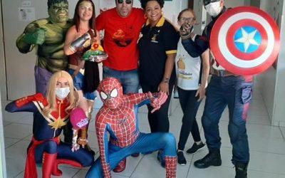 Ala infantil do Hospital Napoleão Laureano recebe doações de projeto de São Paulo