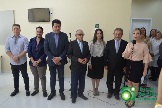 Hospital Laureano inaugura máquinas que vão auxiliar no diagnóstico e tratamento do câncer