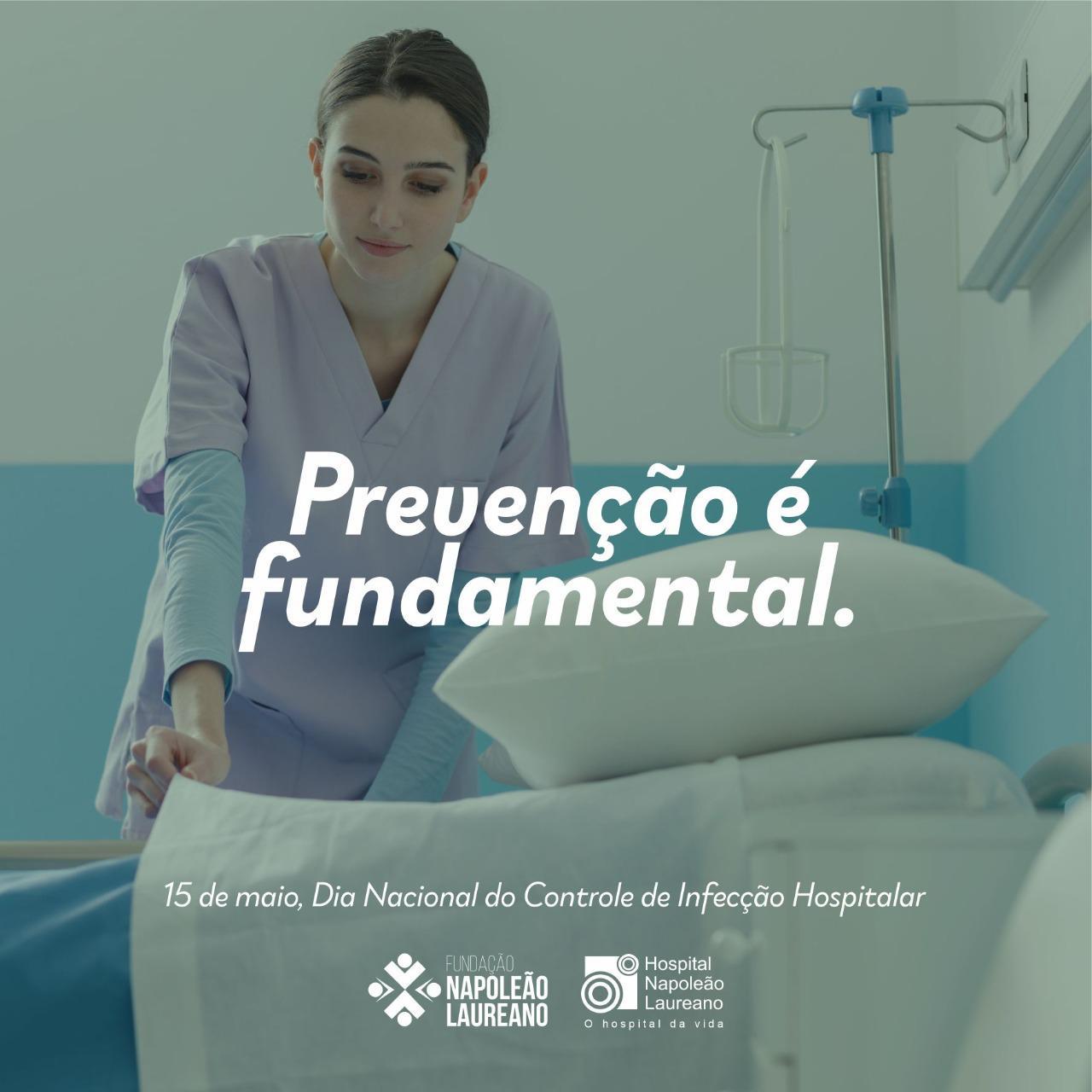 Hoje é o Dia Nacional do Controle das Infecções Hospitalares