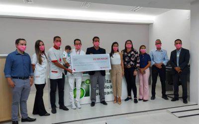 Hospital Napoleão Laureano Recebe doação da Rede Raia