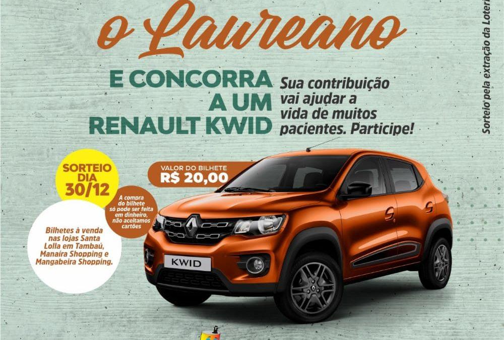 Hospital Napoleão Laureano sorteia carro zero no dia 30