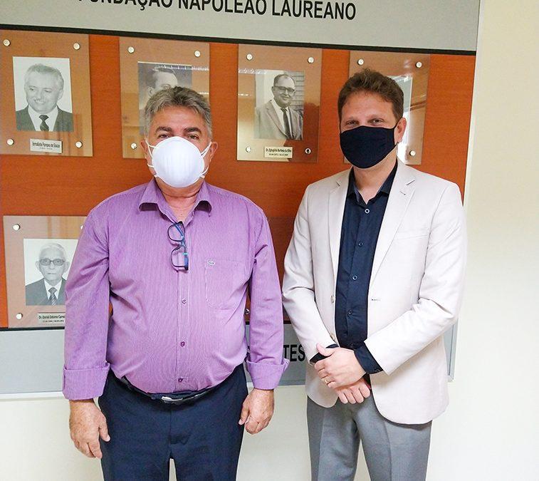 Deputado estadual João Gonçalves visita o Laureano