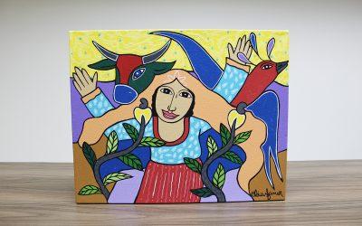 Adquira arte e ajude o Laureano!