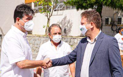 Deputado Federal Ruy Carneiro visita o HNL