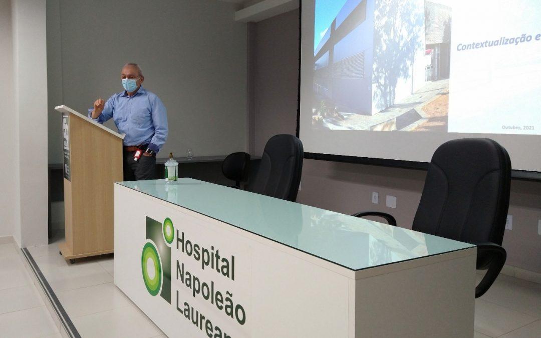 Pesquisadores da UEPB visitam HNL e propõem parcerias
